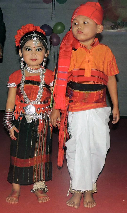 Chakma traditional dress up