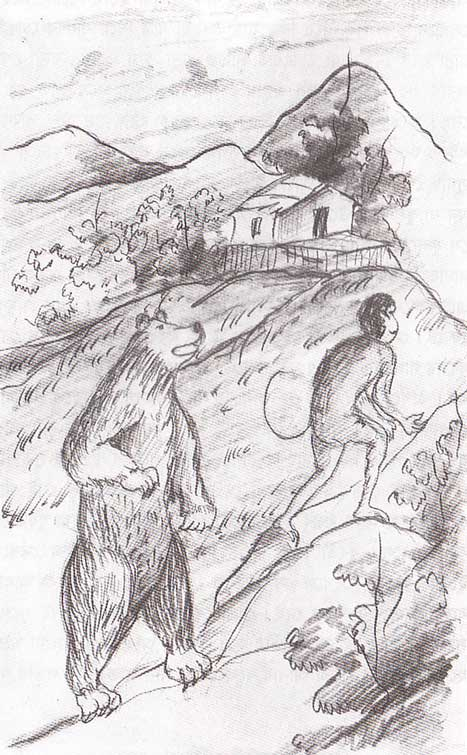 Conversion of Bear and Monkey