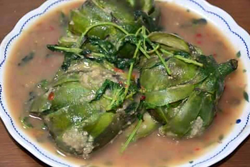 Brinjal dish with Sidol