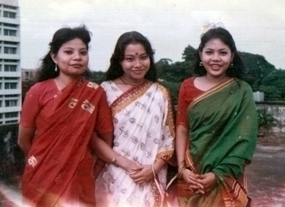 Tandra Chakma and Tatu Roy