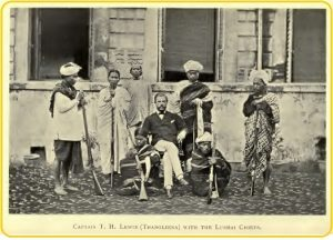 Lewin with Lushai chiefs