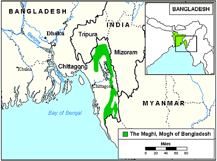 Rakhine or Marma people in CHT
